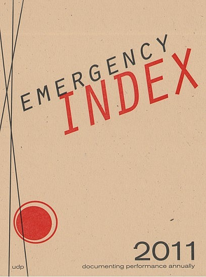 Emergency INDEX 2011 cover